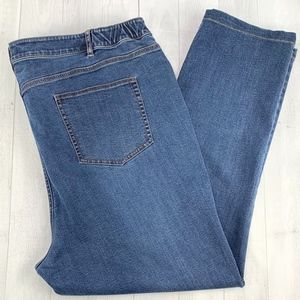 J Jill Denim Jeans Smooth Fit Straight Leg Size 20